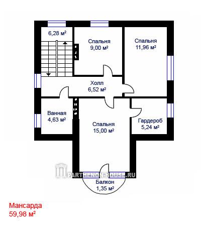 Дом по проекту аоста