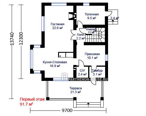 Дом по проекту гроссето