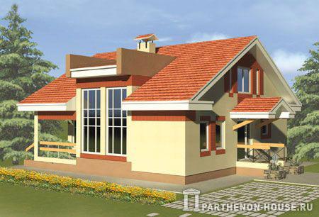 Дом по проекту пезаро