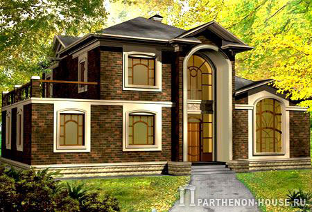 Дом по проекту сассари