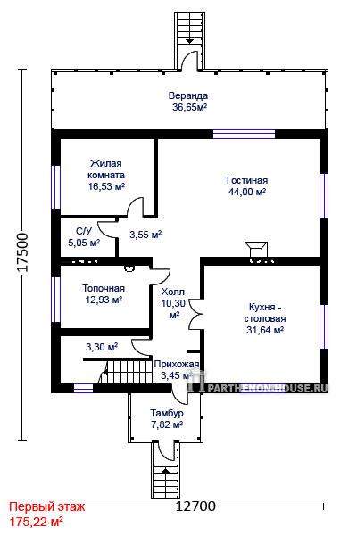 Дом по проекту тиволи
