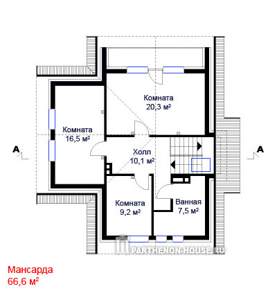 Дом по проекту васто